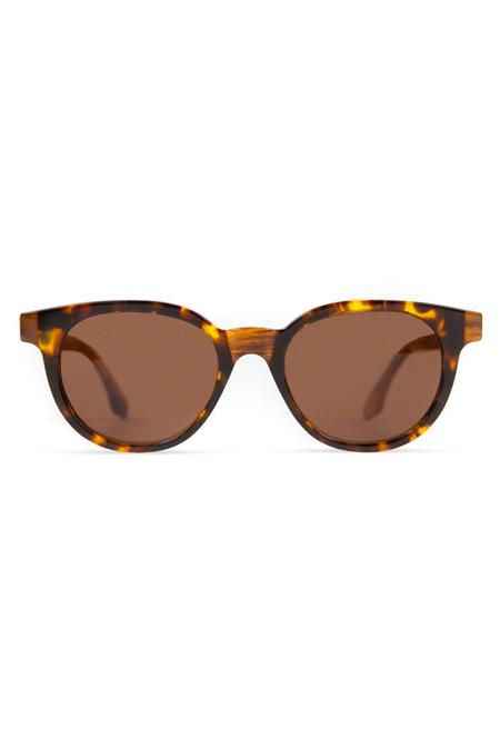 RETROSUPERFUTURE Riviera Levante Sunglasses - Havana