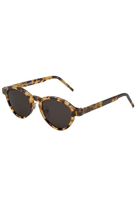 RETROSUPERFUTURE Versilia Sol Leone Sunglasses - Havana