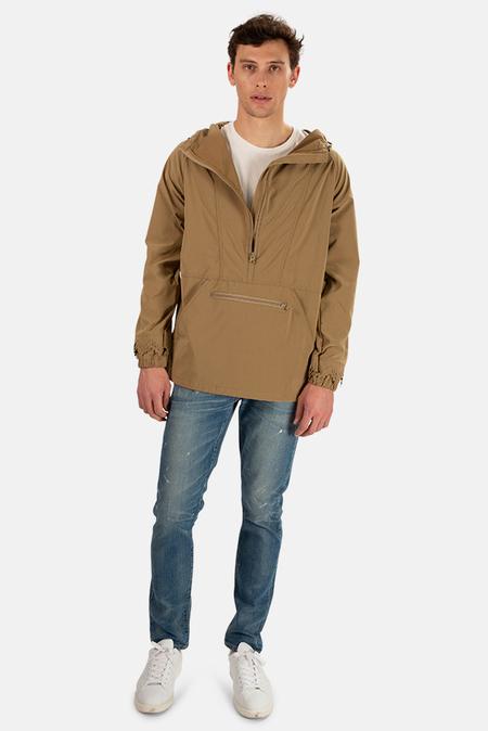 Remi Relief Nylon Anorak Jacket - Khaki