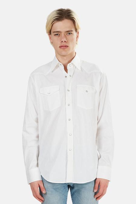 Lucien Pellat-Finet Lucien Pellat Finet Skull Western Shirt - White