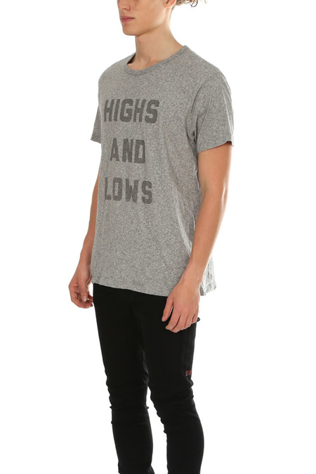 Hiro Clark Highs and Lows Tee - Grey