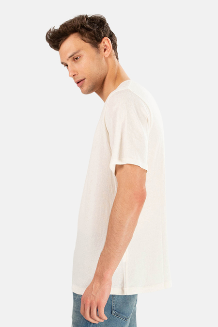 R13 Basic Tee Shirt - Vintage White
