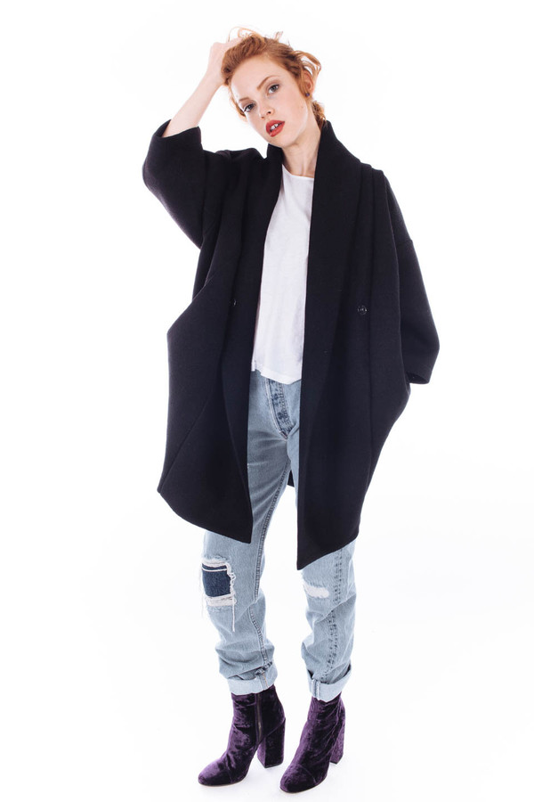 Reality Studio Xiong Coat (Black)
