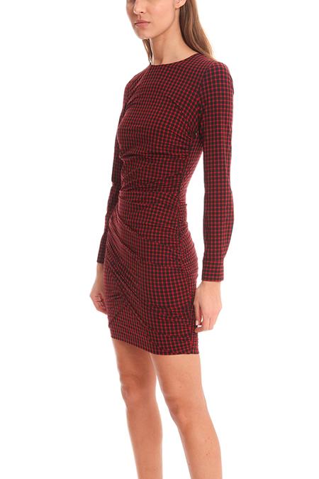 Roseanna Feliz Kirsten Robe Dress - check