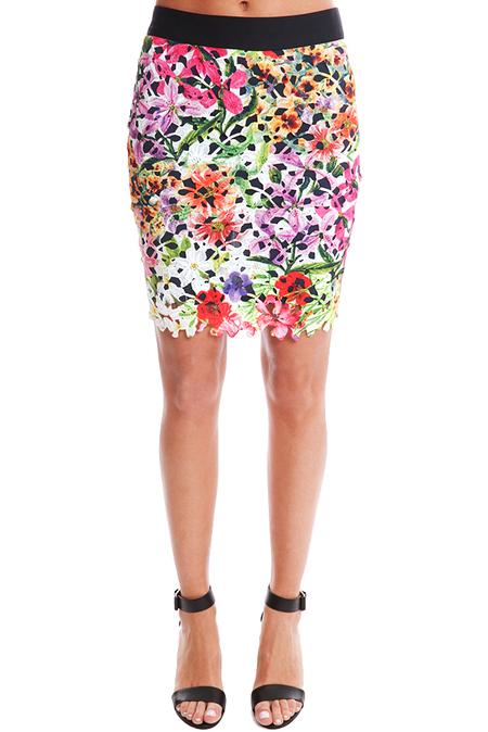 Roseanna Berlin Jupe Fleuri Skirt - multi