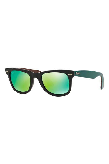Ray-Ban Wayfarer Bicolor Sunglasses - Green