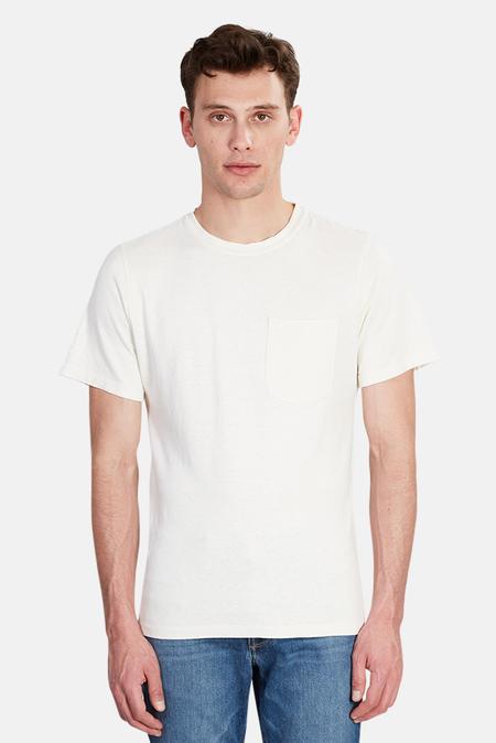Jungmaven Baja Pocket T-Shirt - Washed White