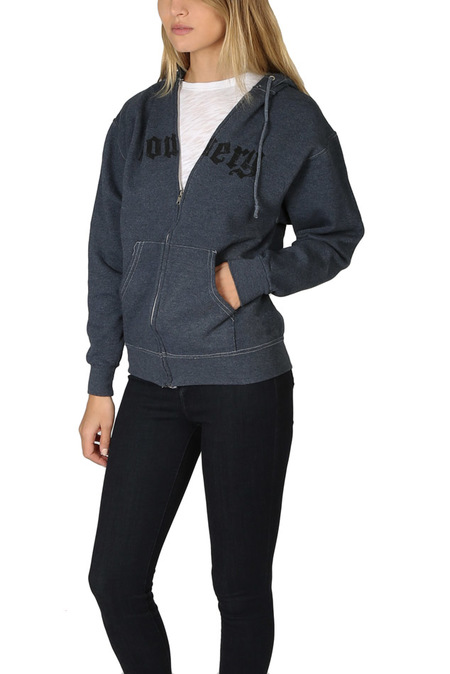 Unisex Blue&Cream Bowery Hoodie Sweater