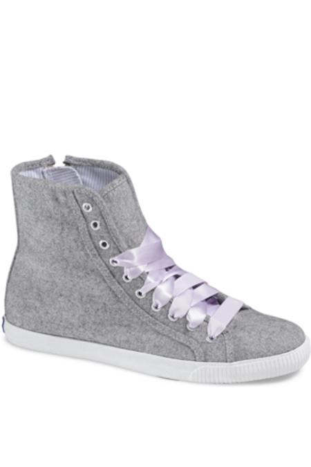 Keds Sneakers Champion Celebrity Wooly Hi Top - Grey
