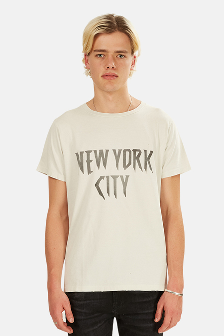 Remi Relief SP Finish NYC Graphic T-Shirt - Off White
