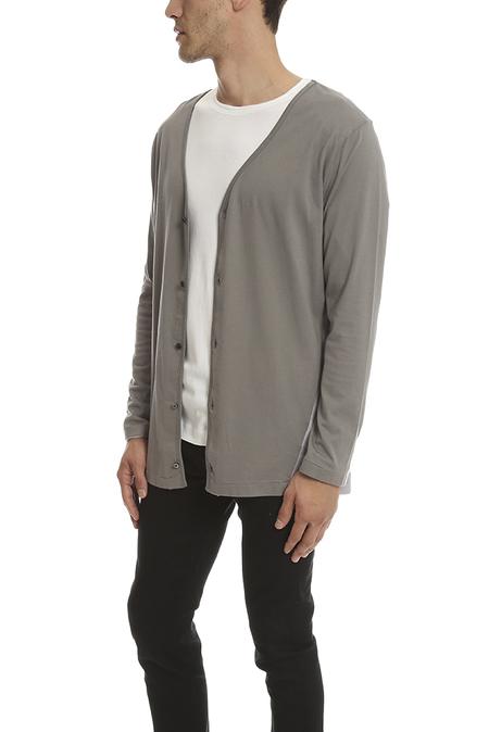 Robert Geller The Seconds Cardigan Sweater - Grey