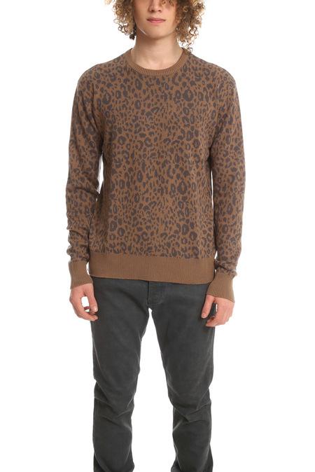 Robert Geller Jacquard Sweater - Leopard