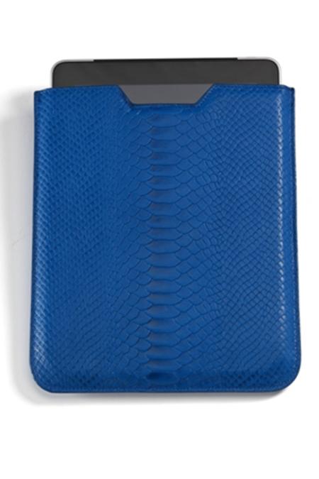 Graphic Image Ipad Sleeve - Blue