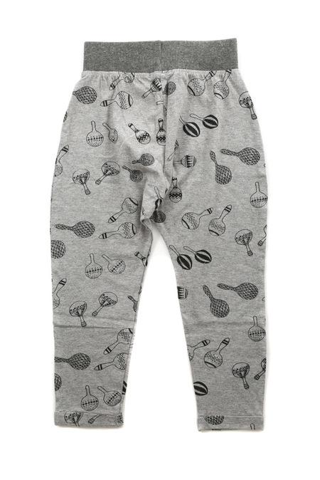kids unisex Indikidual Marraca Harem Pants - Grey