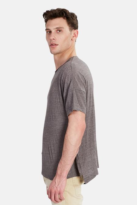 V::Room Raw Crew Jersey T-Shirt - Grey
