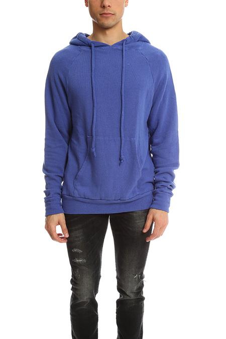 V::Room Melange Fleece Hoody Sweater - Purple