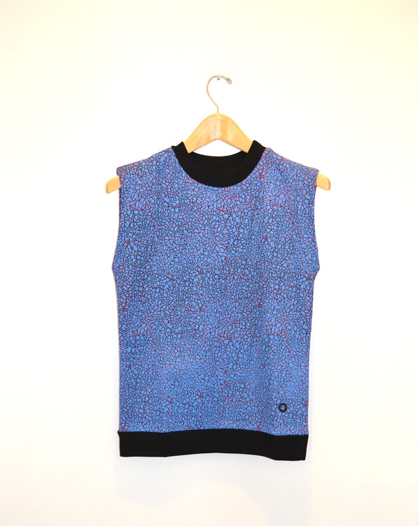 OPENING CEREMONY - Crackle Sleevless Top