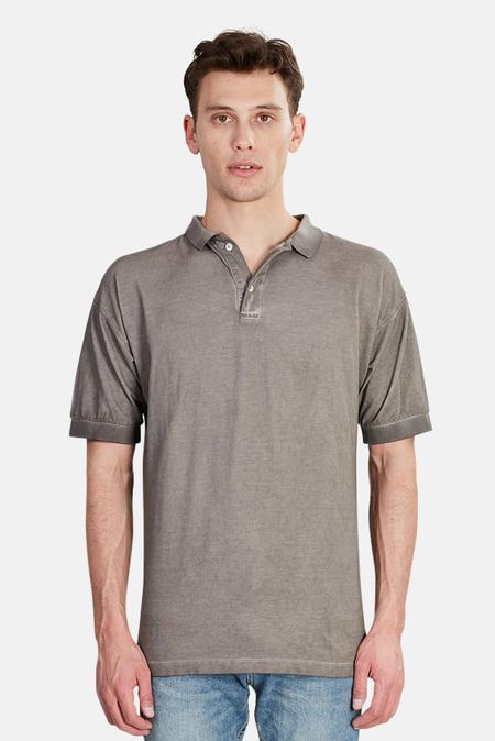 Pierre Balmain Overdyed Polo Shirt - Grey