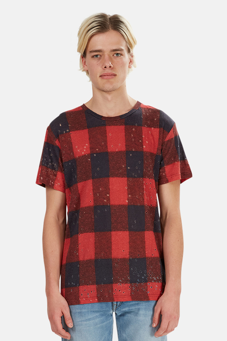 IRO Alessio T-Shirt - Buffalo Check
