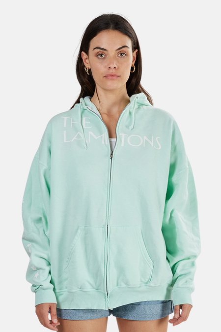 Blue&Cream Lamptons Hoodie Sweater - Mint