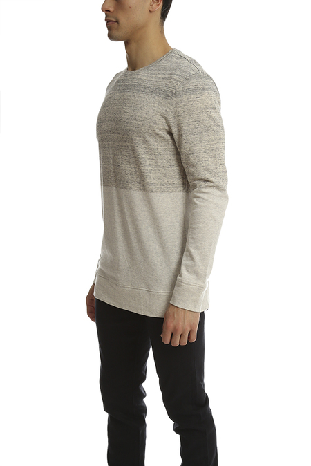 Helmut Lang Crewneck Sweatshirt - Sand Heather