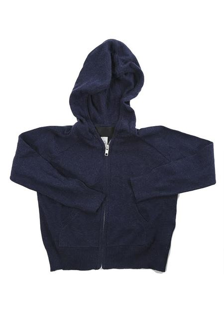 Kids Blue&cream Autumn Cashmere Zip Hoody Outerwear - Navy