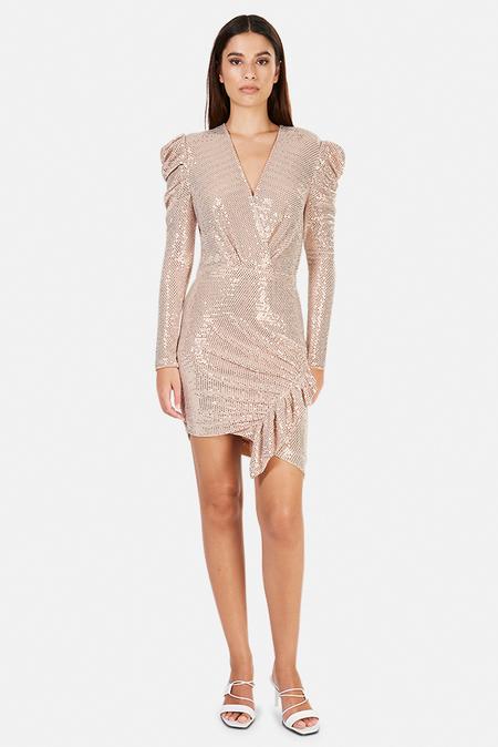 IRO Loulou Dress - blush pink