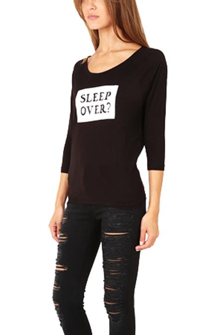 Rotten Roach Sleep Over Shirt - Black