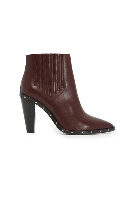 IRO Lieve Bootie Shoes - Burgundy