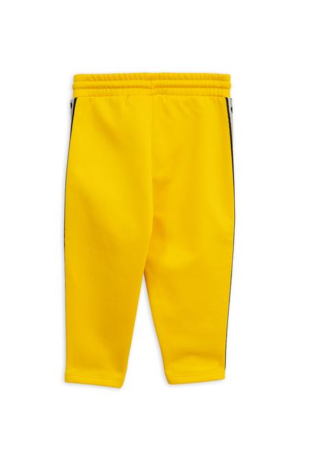 Kids Mini Rodini Panda Track Pants - Yellow