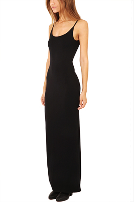 Blue&Cream Chelsea Maxi Dress - Black