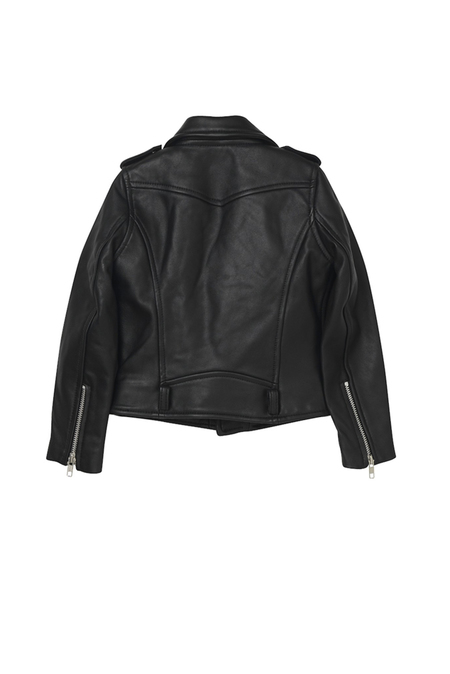 Kids Oaks of Acorn Madison Leather Jacket - Black