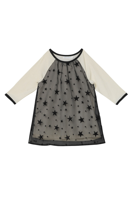 Kids Oaks of Acorn Starry Night Club Dress - White