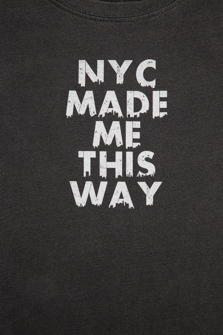 Kids Blue&Cream NYC Made Me This Way Tee Shirt - Black