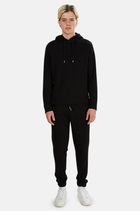 Wheelers.V Mason Pullover Hoodie Sweater - Black