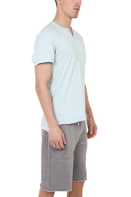 Alternative Apparel Slit Neck T-Shirt - Canal Blue