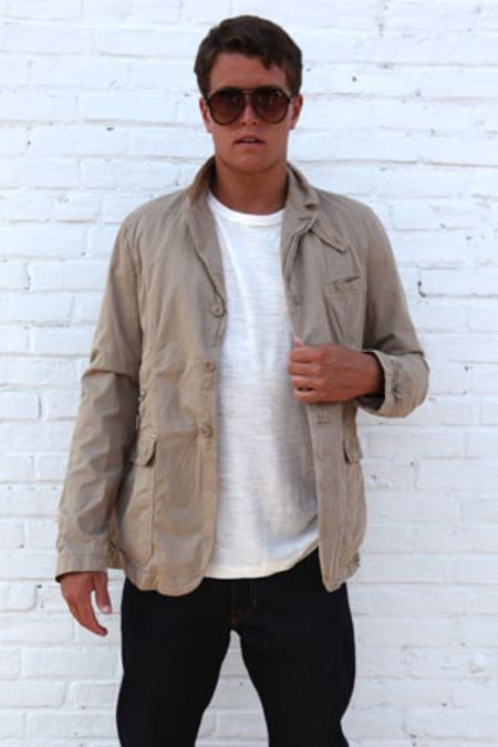 Woolrich Classic Canvas Jacket - Beige