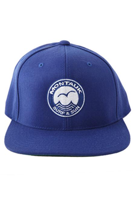 Montauk Snapback Hat - blue