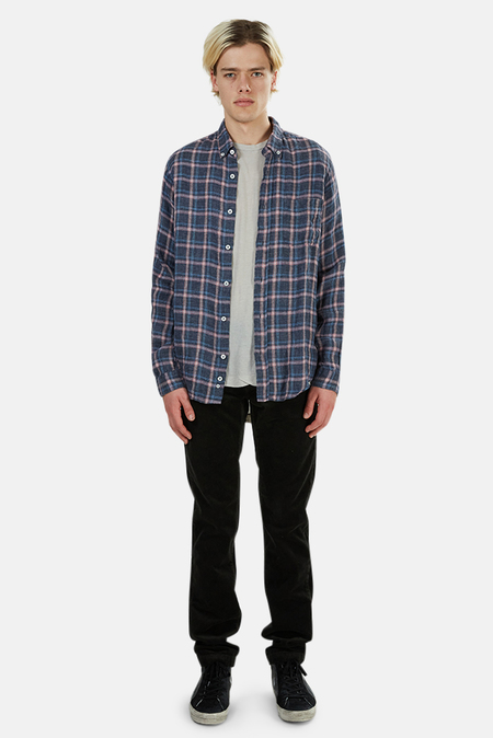 PRESIDENTS Linen Flannel - Check Pink