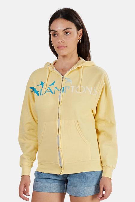 Blue&Cream Lamptons Hoodie Sweater - Yellow