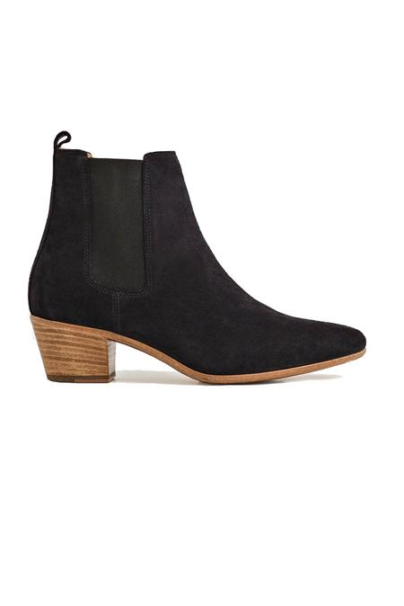 IRO Yvette Boot Shoes - Dark Navy