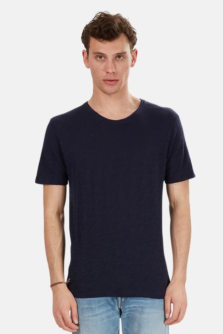 ATM Slub Crew Classic T-Shirt - Midnight