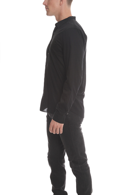 ATM Button Down Dress Shirt - Black