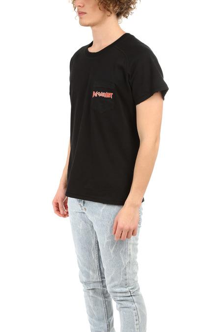 Baja East Tour Raglan Pocket Graphic T-Shirt - Black