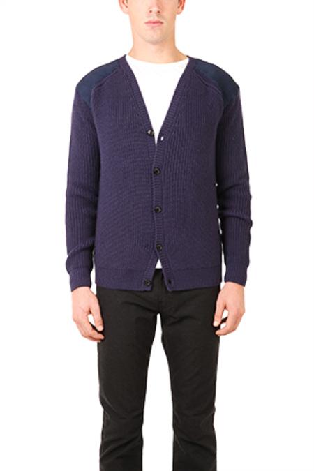 Pierre Balmain Cardigan Sweater - Navy