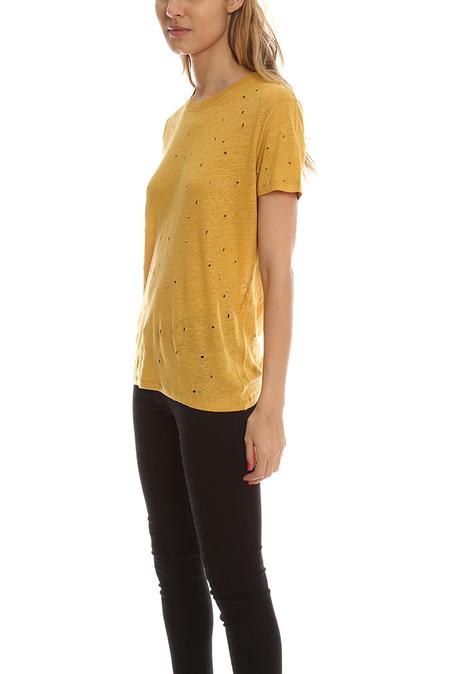 IRO Clay T-Shirt - Safran