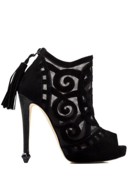 Chrissie Morris Liliana Heel Shoes - Black