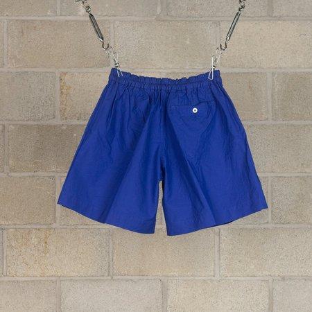 KAPTAIN SUNSHINE Athletic Wide Shorts - Blue