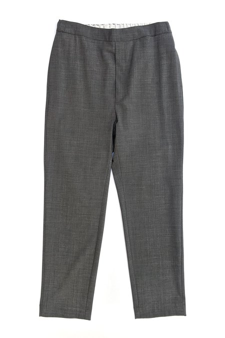 Sibel Saral Pullup Interlock Pant - Slate Grey