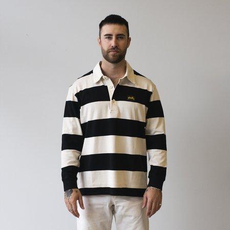 Stan Ray Rugby Shirt - Black/Natural